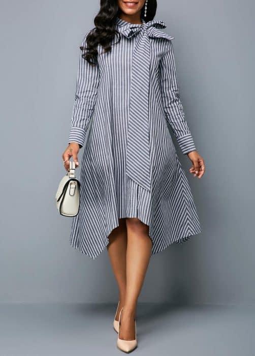Tunik Dress Bow Line Version