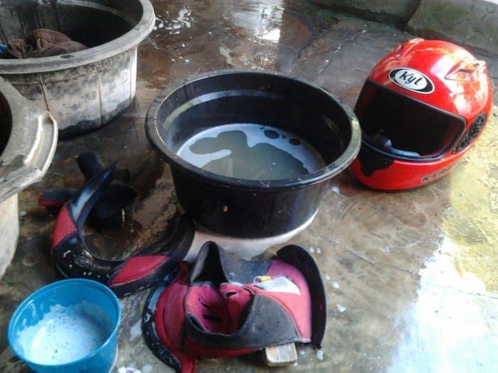 Perkiraan Modal Untuk Usaha Cuci Helm