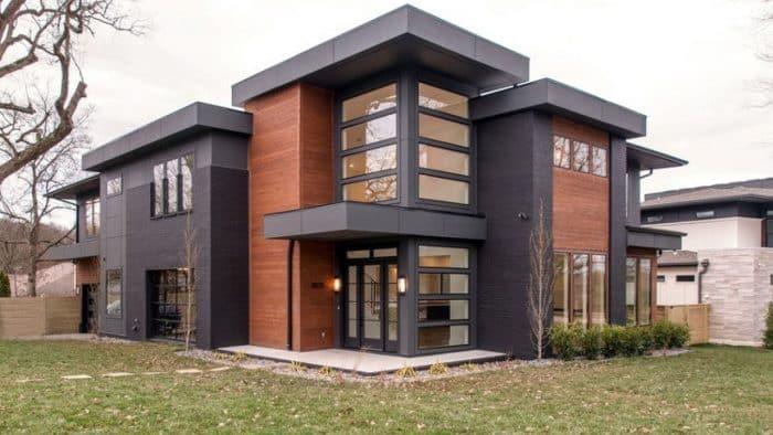 Desain Rumah Model Mansion Modern