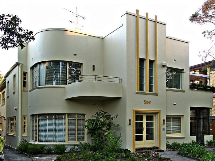 Desain Rumah Impian Modern Art Deco