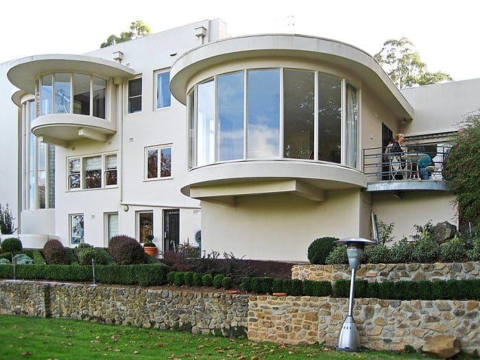 Desain Rumah Art Deco Mewah Perkotaan