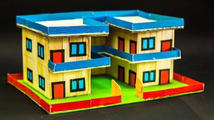 Desain Rumah Kost Stik Es Krim