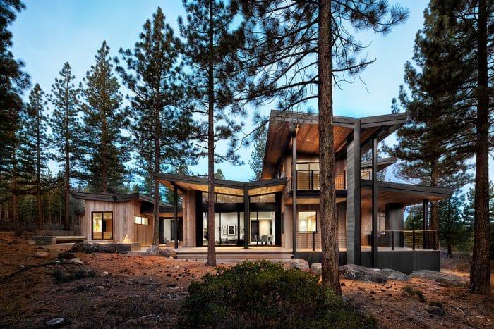 Desain Rumah Impian Kayu Modern
