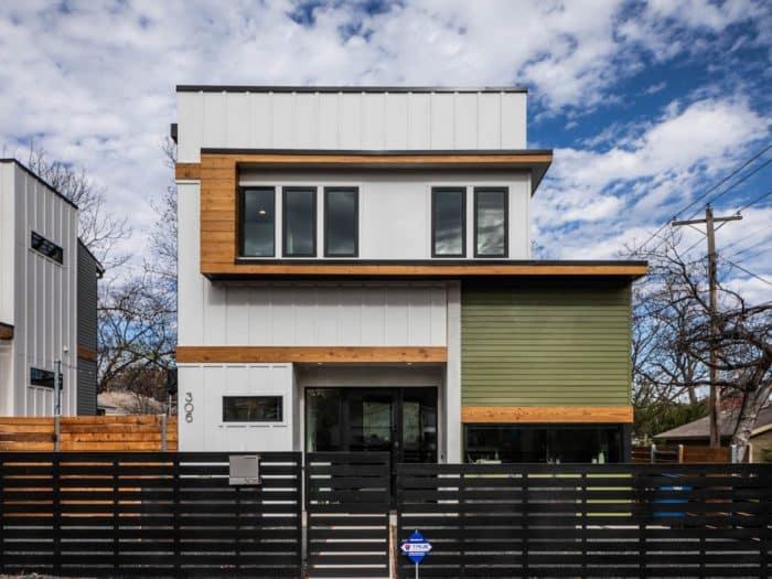 Desain Rumah Kota Modern di Austin