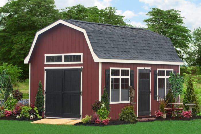 Kombinasi Barn dan Rumah