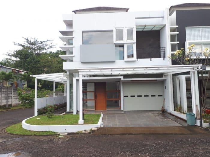 Desain Rumah Kota Impian Mewah