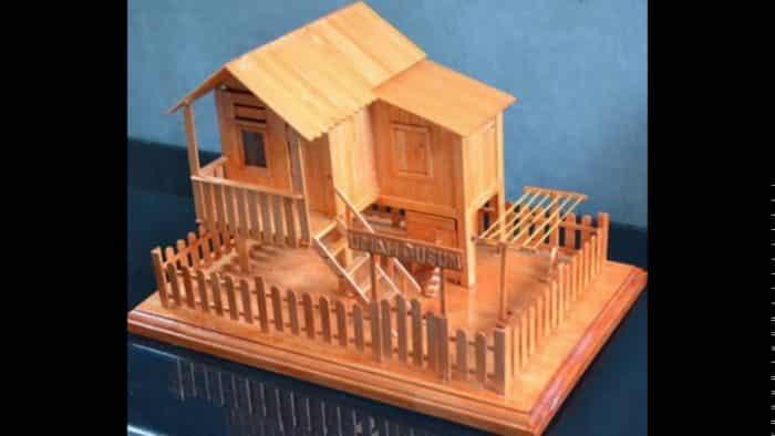 45 Contoh Desain Rumah Dari Stik Paling Unik Dan Menarik