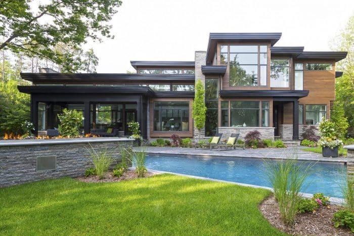 Desain Rumah Impian Modern Untuk Keluarga Tunggal