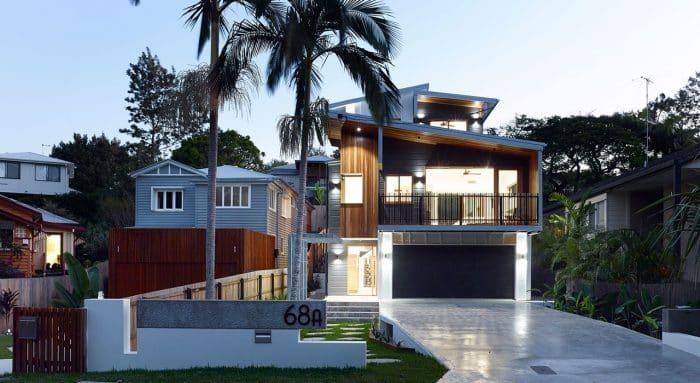 Desain Rumah Modern Model Australia Perkotaan