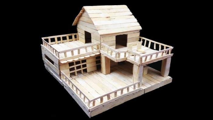 Rumah Bentuk L yang Bertingkat