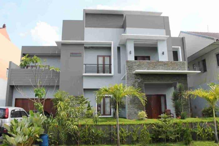 Desain Rumah Impian Dua Lantai Mewah