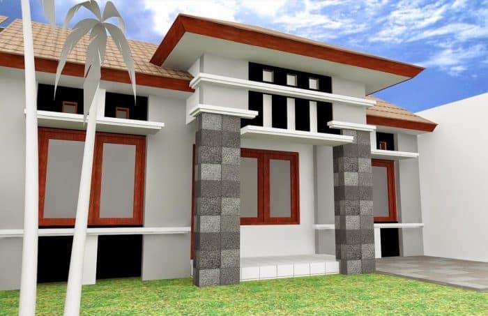 Batu Alam Candi untuk Rumah Mewah Anda