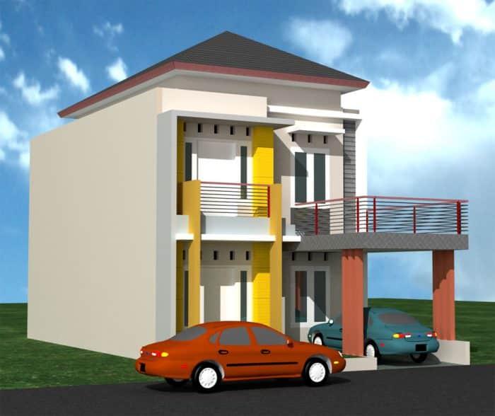 49 Contoh Desain Rumah Minimalis Terlengkap