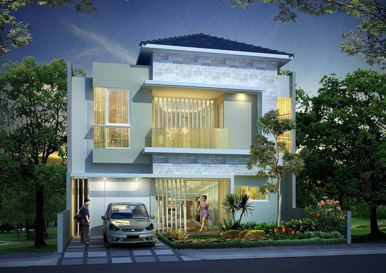 50 Contoh Desain Rumah Bagian Depan Modern Klasik Dan