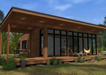 Contoh Desain Rumah dari Kayu