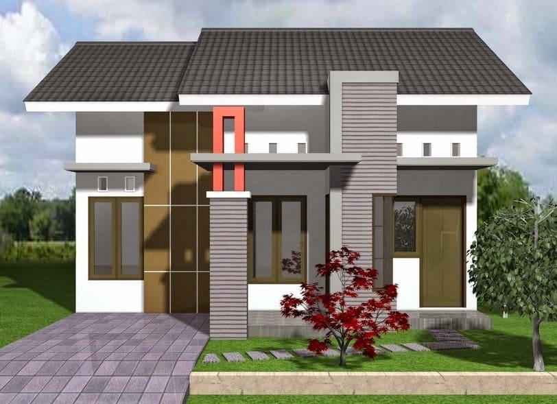 Contoh Desain Rumah Minimalis Tampak Depan Thegorbalsla