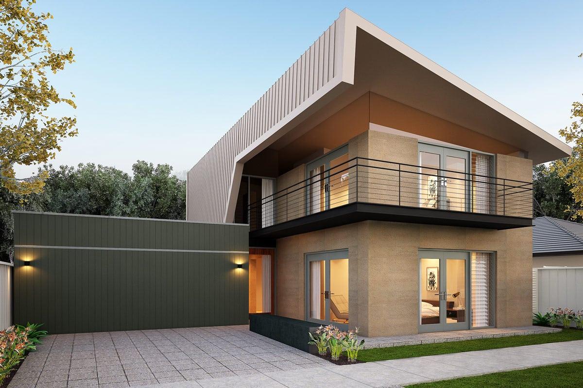 49 Contoh Desain Rumah Dua Lantai Modern Dan Elegan Thegorbalsla