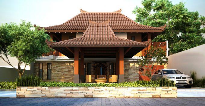 45 Contoh Desain Rumah Jawa Dan Joglo Klasik Dan Modern
