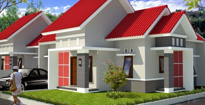 40 Contoh Desain Rumah Kontrakan Rekomendasi Nyaman