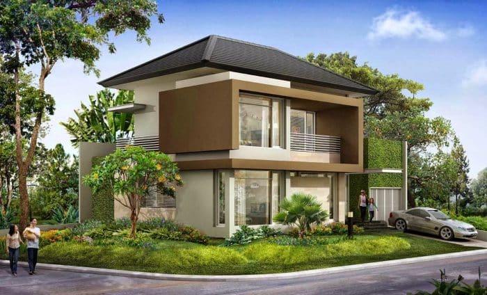 Desain Bagian Depan Rumah yang Memprioritaskan Keharmonisan Keluarga