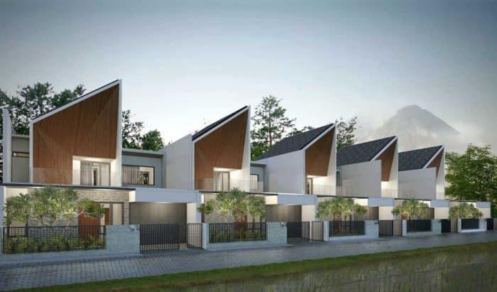 Desain Kontrakan Modern 2 Lantai