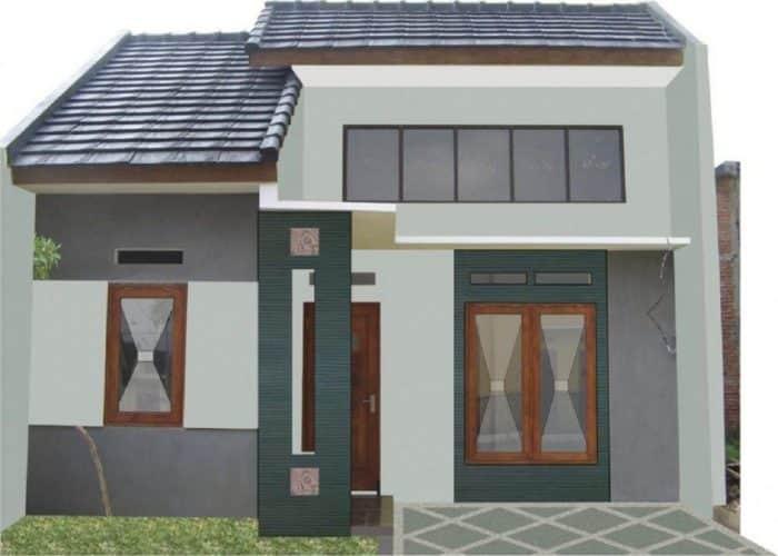 Desain Kontrakan Tipe Bangunan 60