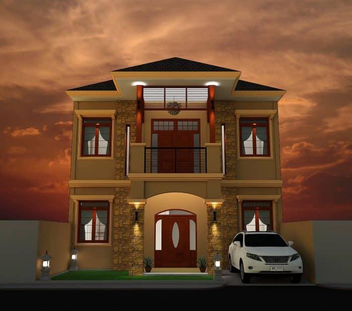 Desain Kos Tipe Bangunan 120
