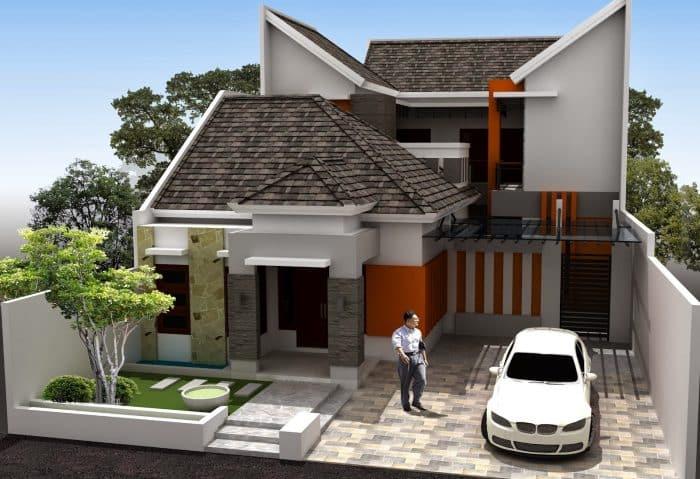 Desain Kos dengan Rumah Pemilik