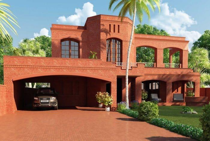 820 Desain Rumah Minimalis Bata Merah Sederhana Gratis
