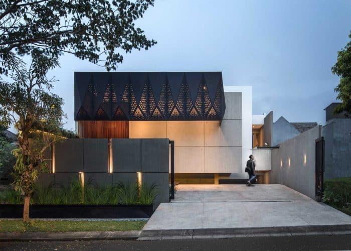 Desain Rumah Batu Marmer