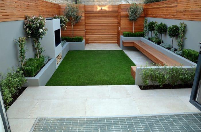 Desain Rumah Belakang Back To Nature