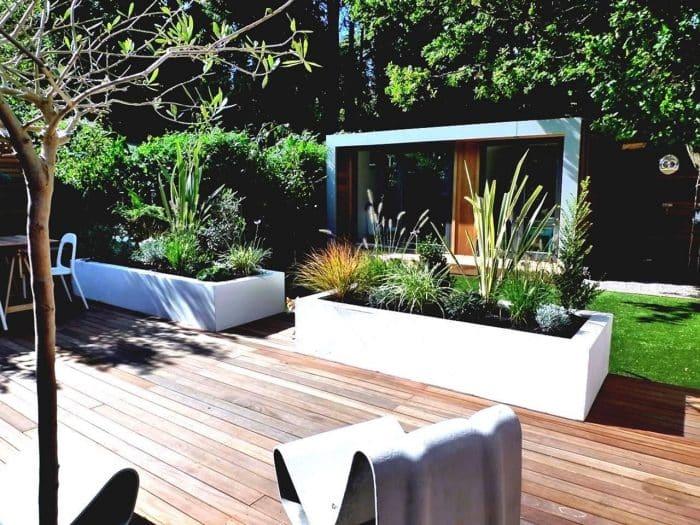 Desain Rumah Belakang Tropis Minimalis