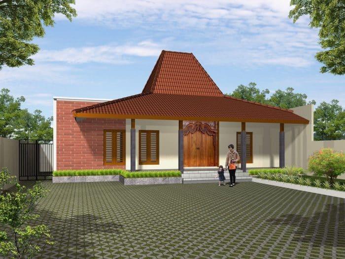 Rumah Joglo Sederhana