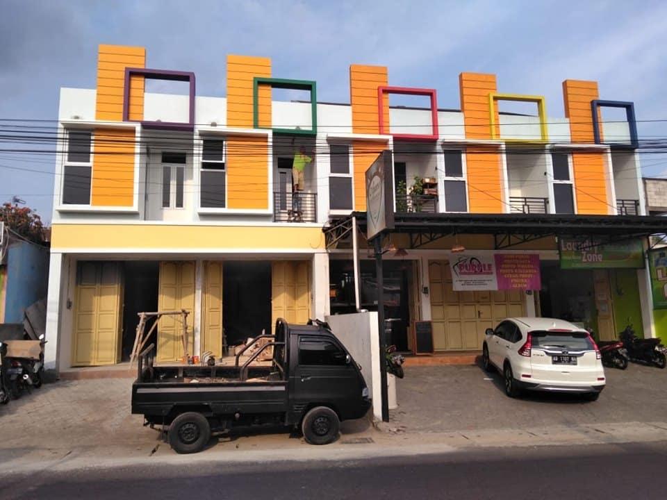 Desain Rumah dan Toko Box Square - Thegorbalsla