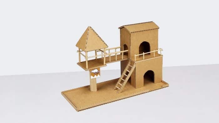 Desain Rumah dari Kardus dengan Gaya Beda