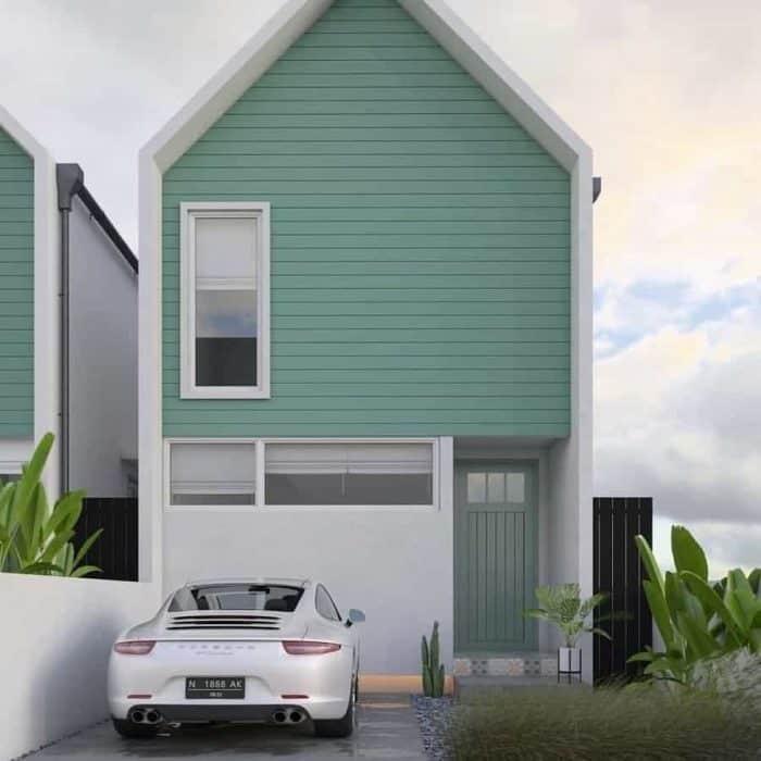 50 Contoh Desain Rumah Bagian Depan (Modern, Klasik dan ...