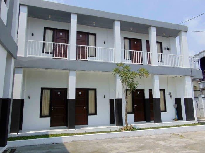 Desain kos 8 kamar