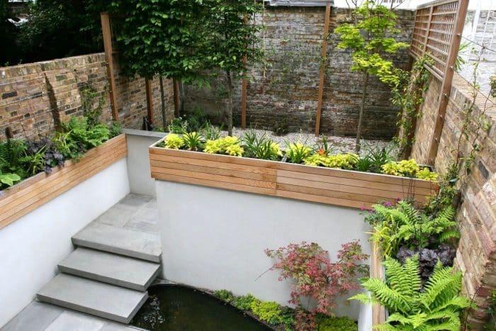 Desain Rumah Belakang Outdoor Plants