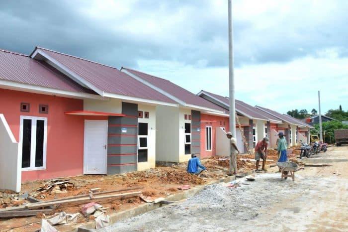 Desain rumah cantik warna pastel