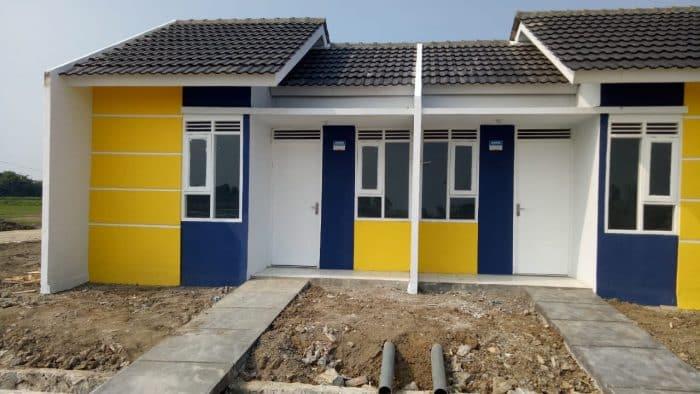 Desain rumah dengan jalan setapak