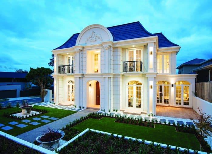 45 Contoh Desain Rumah Gaya Eropa Klasik Termewah