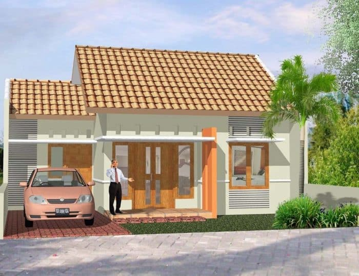 43 Contoh Desain Rumah Garasi Samping Modern Dan Minimalis