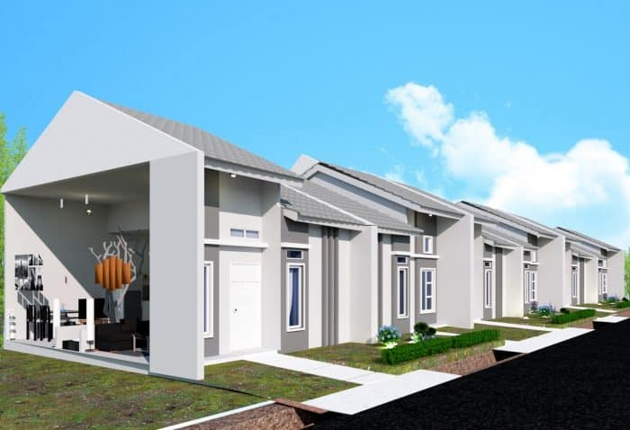 Desain rumah minimalis tanpa banyak ruangan