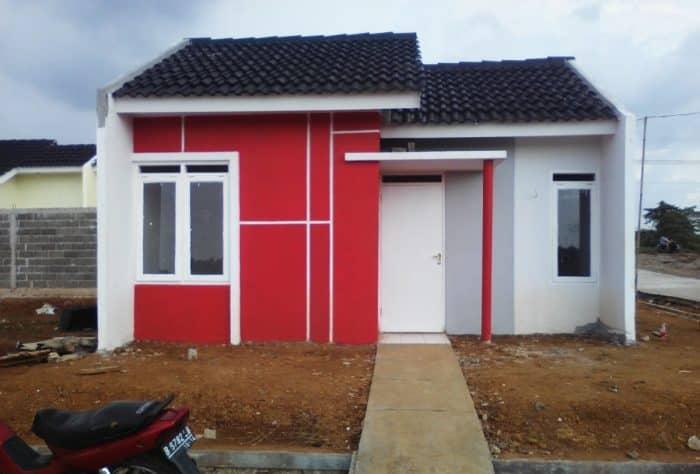 Desain rumah terlihat kokoh