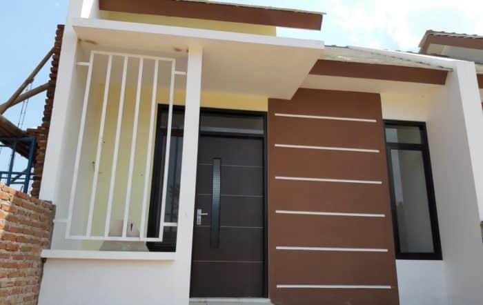 Desain rumah unik modern minimalis