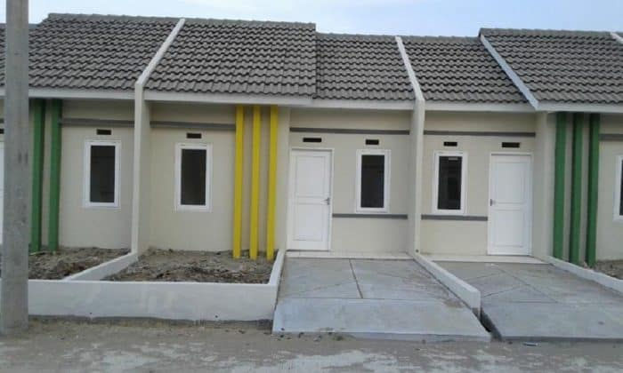 Desain rumah unik tiga pilar