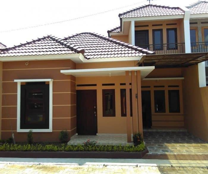 Fancy house minimalis bergaya klasik