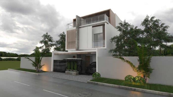Home Industrial Semi Outdoor Rooftop