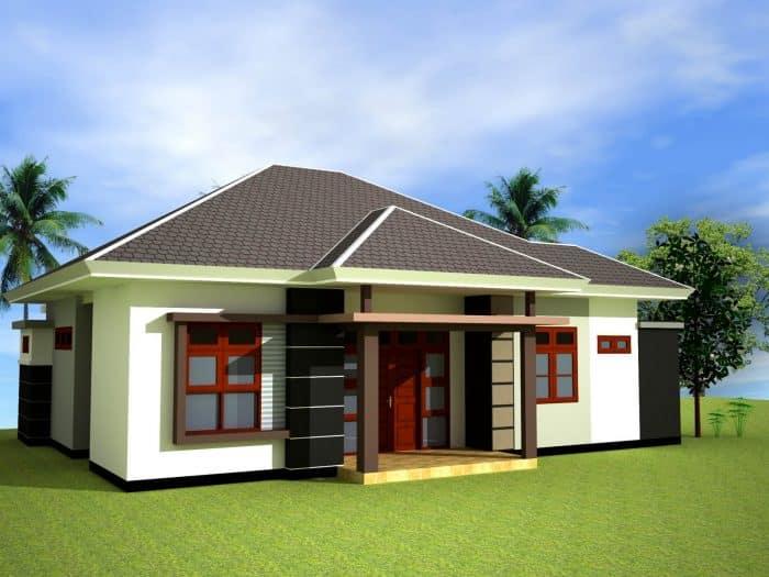 45 Contoh Desain Rumah Desa Sederhana Klasik Dan Modern