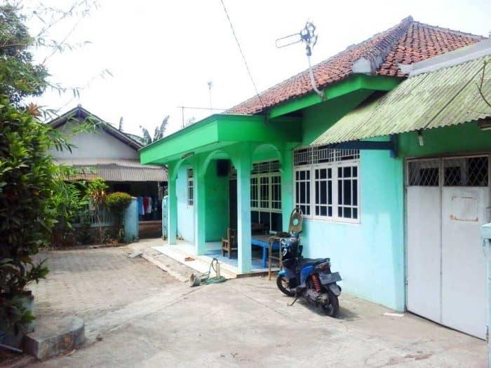 Rumah Desa Sederhana Minim Lahan